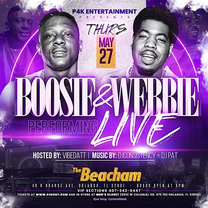 Boosie Badazz and Webbie Live image