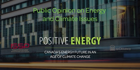 Public Opinion on Energy and Climate Issues tickets