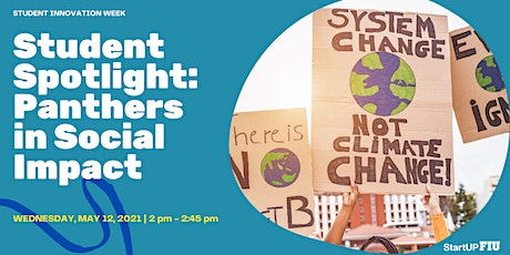 Student Spotlight: Panthers in Social Impact tickets