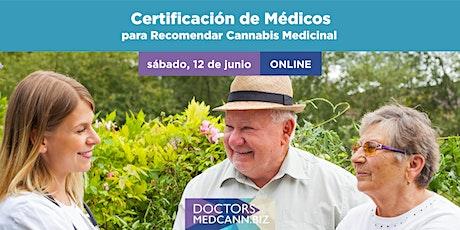 Certificación de Medicos para recomendar Cannabis Medicinal ingressos