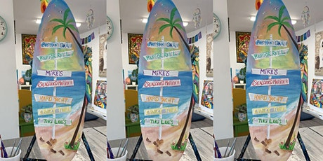 Surfboard: Glen Burnie, Sidelines with Artist Katie Detrich! tickets