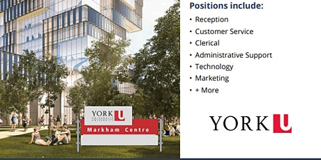 York University Temporary  Career Info Session tickets