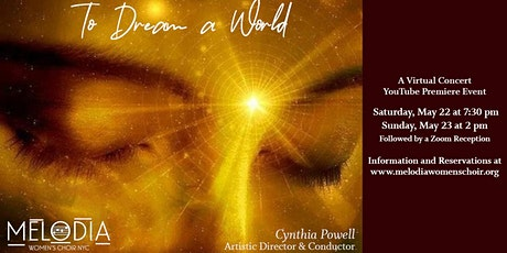 To Dream a World - a virtual concert Tickets