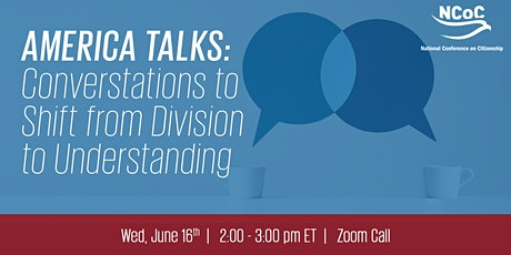 America Talks: Conversations to Shift from Division to Understanding tickets