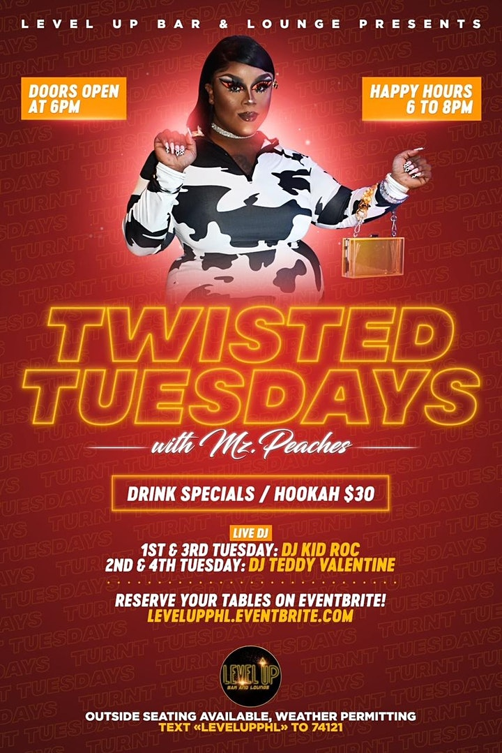 Twisted Tuesdays with Mz.Peaches image