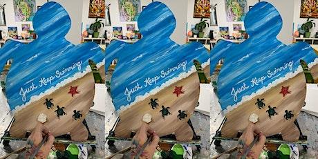 Turtle! Glen Burnie, SIdelines with Artist Katie Detrich! tickets