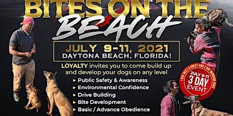 BITES ON THE BEACH DOG TRAINING tickets