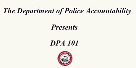 DPA Information  Session: DPA 101 tickets