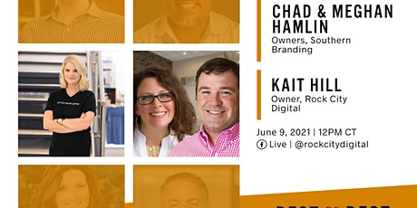 Best of the Best Live Event: Chad & Meghan Hamlin, CEO of Southern Branding tickets