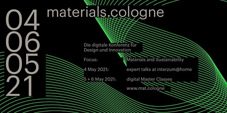 materials.cologne-Die Konferenz für Design und Innovation / Master Classes Tickets