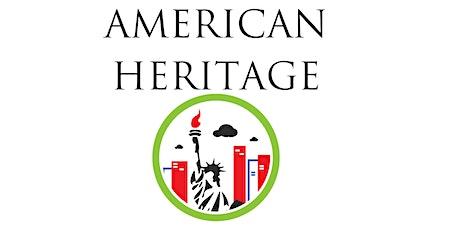 American Heritage Badge Online tickets
