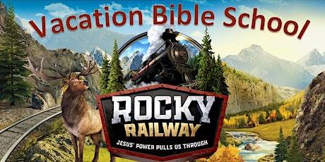 -VBS -2021-Rocky Railway-  Jesus' Power Pulls Us Through! tickets