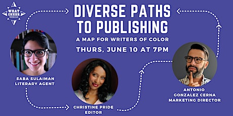 Diverse Paths to Publishing: A Map for Writers of Color tickets