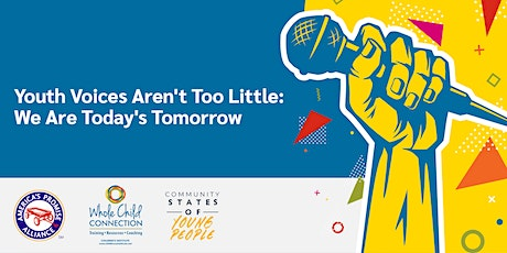 Youth Voices Aren't Too Little:  We Are Today's Tomorrow biglietti