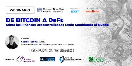 CLUB DE LA LIBERTAD - DE BITCOIN A DeFi - Las finanzas descentralizadas entradas