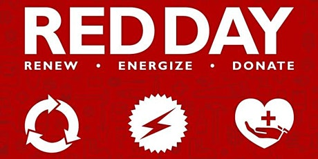 RENEW, ENERGIZE, DONATE....RED DAY 2021 tickets