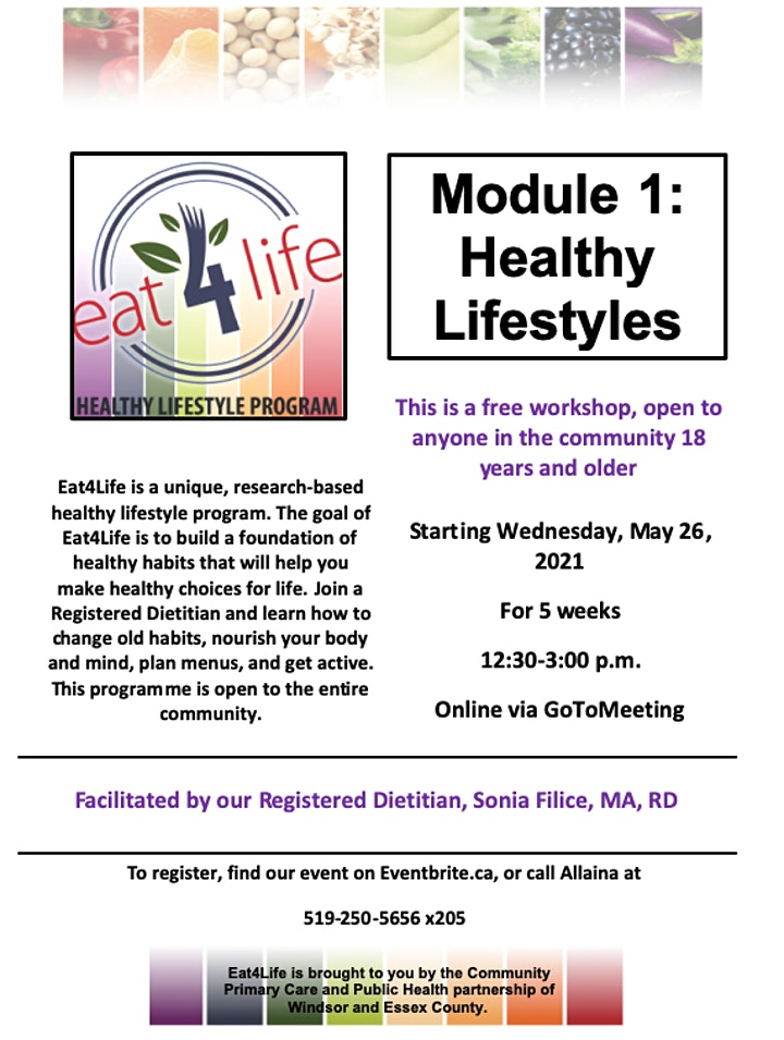 Eat 4 Life Module 1: Healthy Lifestyles image