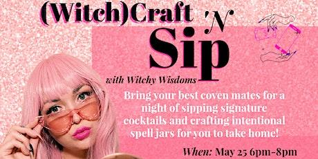 Witch(craft) & Sip tickets