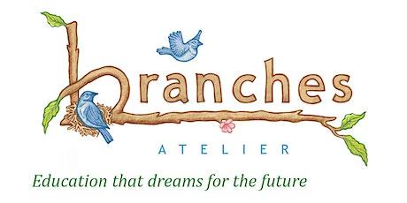 Branches Atelier Parent Tour for  Thursday, 6/17/2021  4pm tickets