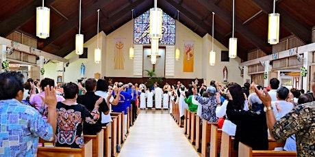 Mass at OLS tickets