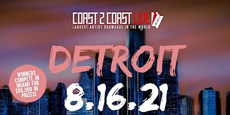Coast 2 Coast LIVE Showcase Detroit - Artists Win $50K In Prizes tickets