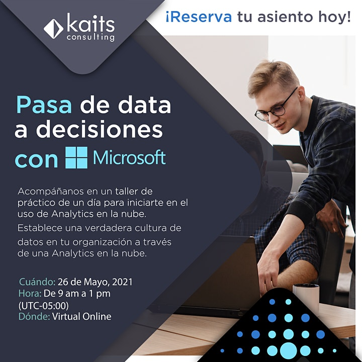 Imagen de Analytics in a Day por Kaits Consulting Group  - 26/05/21
