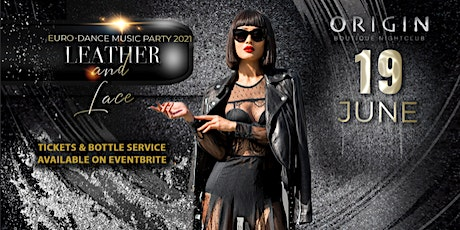 Leather & Lace Euro-Affair is postponed to Saturday, June 19th tickets
