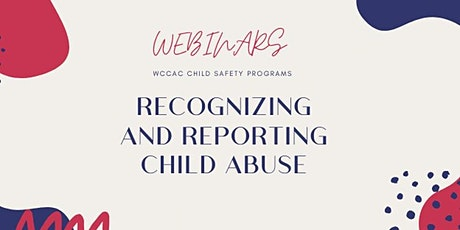 Recognizing and Reporting Child Abuse tickets