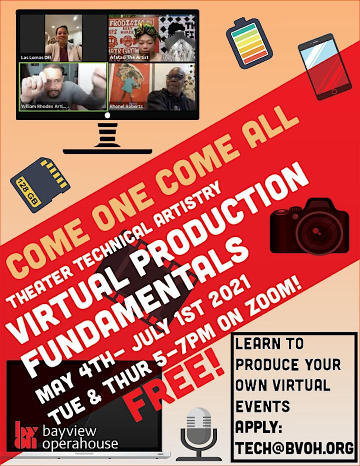 Virtual Production Fundamentals: Workshop Series image