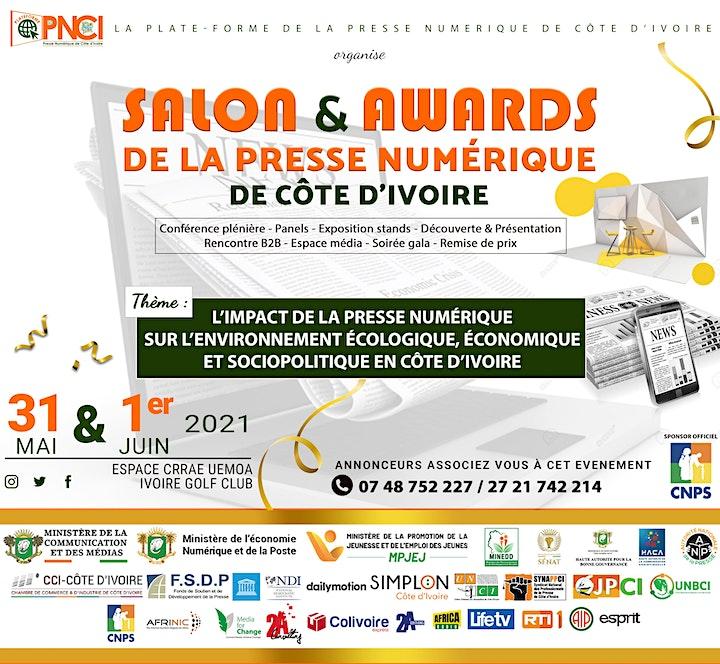 Image pour Salon & Awards de la presse numérique de Côte d'Ivoire #SAPNCI