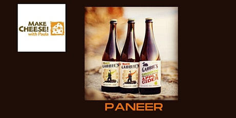 Paneer Demo with Gabbie's Cider Tasting tickets