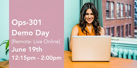 301 Ops Virtual Demo Day Presentations tickets