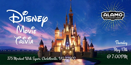Disney Trivia at Alamo Drafthouse Cinema Charlottesville tickets