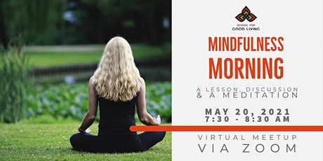 May Mindfulness Morning - ONLINE tickets