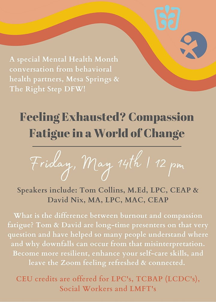 Feeling Exhausted? Compassion Fatigue in a World of Change image