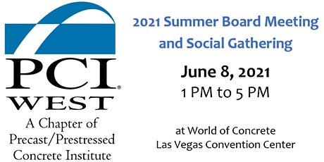 PCI West Summer Board Meeting at World of Concrete (Las Vegas) tickets