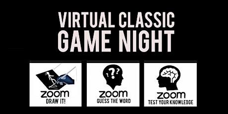 Virtual Classic Game Night w/ Triangle Game Night tickets