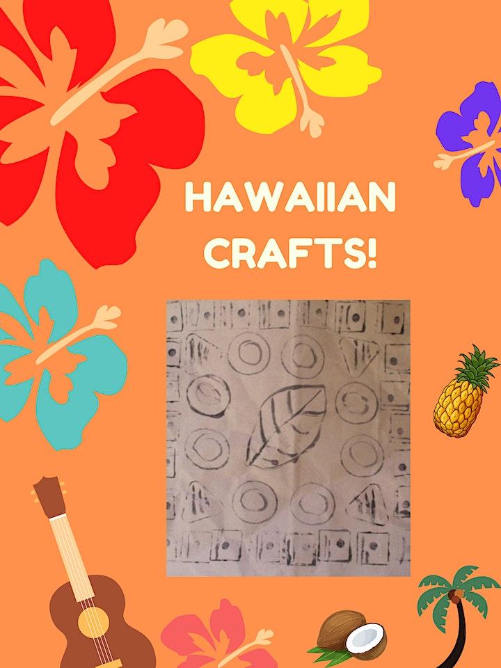 Hawaiian Aloha Crafts (Kids of All Ages) image