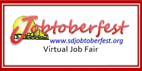 22nd Virtual Jobtoberfest FOR JOBSEEKERS!!! tickets