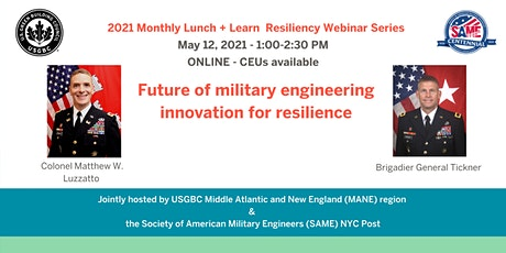 Future of military engineering innovation for resilience tickets
