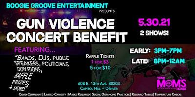 Gun Violence Concert Benefit/Fundraiser (Late Show)