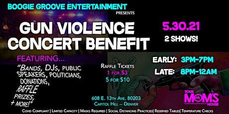 Gun Violence Concert Benefit/Fundraiser (Late Show) tickets