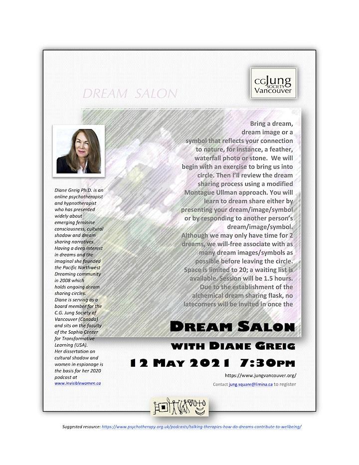 Dream Salon with Dr Diane Greig image