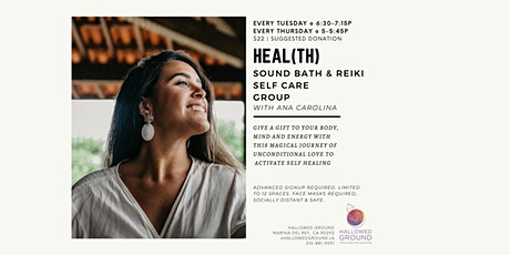 Heal(th) | Sound Bath & Reiki Selfcare Group tickets