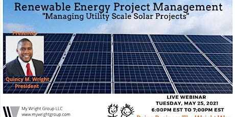Renewable Energy Project Management tickets