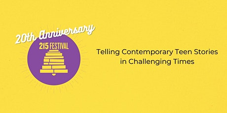 Telling Contemporary Teen Stories in Challenging Times tickets