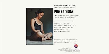 Power Yoga tickets