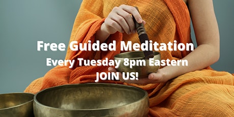 Guided Meditation-Sitting in the Power-Every Tuesday at 8pm Eastern tickets