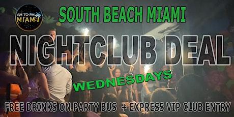 Wednesday Nightclub Deal In Miami tickets