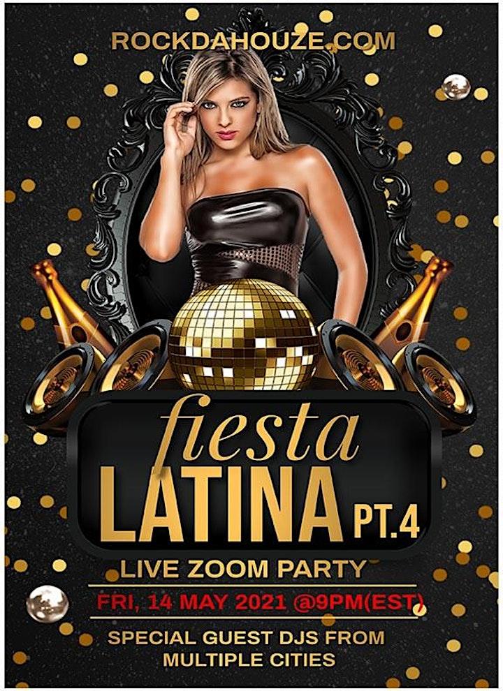 Fiesta Latina Pt.4 - Online Zoom Party image